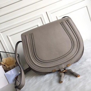 Berühmte Modemarke Design Frauen Tasche Hohe Qualität Echtes Rindsleder Cloe Mini Marcie Tasche Schulter Messenger Saddle Bag Kostenloser Versand