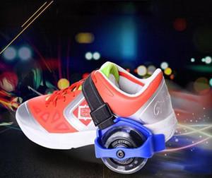الأطفال سكوتر الأطفال الرياضية بكرة مضاء اللمعان الرول سكيت عجلات كعب المتداول الزلاجات عجلات حذاء تزلج الأسطوانة c197