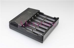 원래 신뢰 화재 TR-012 디지털 충전기 trustfire 18650에 대 한 6 슬롯 지능형 다기능 충전 18500 18350 배터리 DHL
