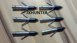 6 PK Bowfishing Arrow Point Arrow Head 350 الحبوب السهم نصائح سريعة الإصدار لمدة 5/16 الصيد السهم