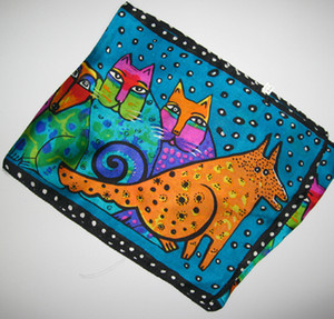 100 ٪ وشاح الحرير والأوشحة تصميم وشاح الحرير كتي للسيدات أو الأطفال 20 جهاز كمبيوتر شخصى / الكثير جديد