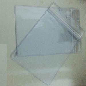 Büyük Boy Uygun Temizle PVC Rozet Çalışması Sergi KIMLIK Adı Su Geçirmez Kart Sahipleri SUK-304