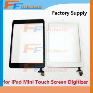 لباد ميني 1 2 شاشة تعمل باللمس محول الأرقام مع زر الصفحة الرئيسية لاصق وإصلاح استبدال قطع غيار عالية الجودة مصنع توريد أسود أبيض