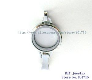 5 stücke Abzeichen halten lanyard Schwimmdock Medaillon 30 * 65mm Chrom farbe Plain Copy Edelstahl Glas als familien freunde geschenk