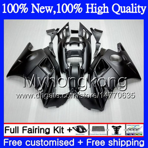 Bodys Motorcycle para Honda CBR 600F2 Matte Black FS CBR600 F2 91 92 93 94 Aamy5 CBR600FS CBR 600 F2 91 CBR600F2 1991 1993 1994 Fairing