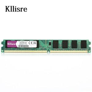 Kllisre DDR2 2 GB de memória Ram 800Mhz PC2-6400U 240PIN DIMM Desktop