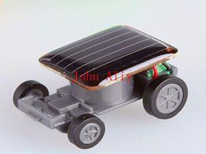 Venda quente por atacado Popular Menor Mini Carro Movido A Energia Solar Carro de Brinquedo Novo Mini Crianças Brinquedo Solar Presente Frete grátis