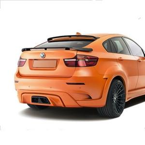 BMW X6 E71 Performans için fit karbon fiber arka spoyler