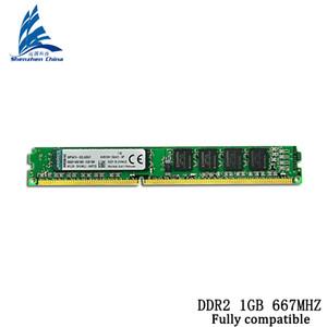 DDR2 1 GB 800 MHZ Nova Marca Selada DDR DDR2 2 GB NOVO PC-5300 / 6400U Desktop Memória RAM / pode compatível com todos PC