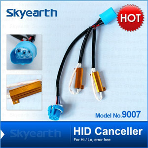 H4 H13 9004 9007 Hi-low HID Canceller fog lamp error free load resistor 50w 6-8 ohm no flickering warning canceller for led lights lamp