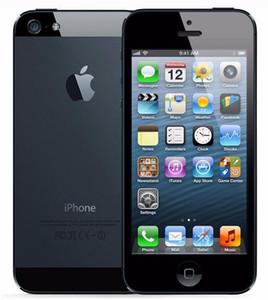 Revenido original Apple iPhone 5 com lcd original bateria original iOS 9.0 16GB / 32GB / 64GB 8MP desbloqueado celular