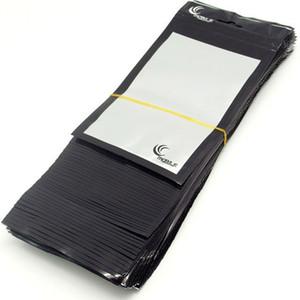 çantayı 20 * 11.5cm Ambalaj Cep Telefonu Kılıf araç şarj Aksesuar 500pcs / lot Toptan siyah + net Perakende Ambalaj Plastik Poşet