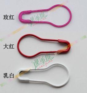Новое прибытие одежда PIN красный белый красный маленький булавка тыквы иглы стальная проволока контактный 0.95*2.1 см для тега