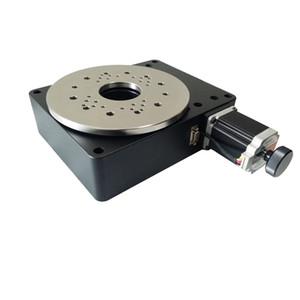 PT-GD204 전기 회전 기계, 전기 광학 회전 플랫폼, 전동 회전 스테이지, 직경 : 200mm