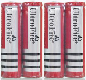 Rojo 18650 recargable 4200 mAh 3.7 V 18650 Baterías de ion-litio GH 18650 Baterías para el puntero láser pluma linterna juguetes envío gratis