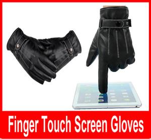 Guanti moto da uomo in pelle nera, guanti invernali, guanti da moto, guanti da moto, guanti impermeabili