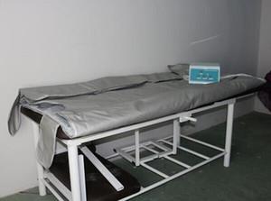 Novo !!! 3 zonas infravermelho distante sauna cobertores sauna cobertor térmico para perda de peso máquina de emagrecimento DHL navio livre
