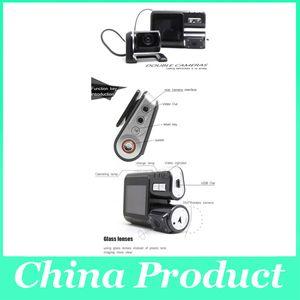 I1000 Auto DVR Dual Kamera Dual-Objektiv Camcorder HD 720P Dash Cam Black Box mit hinteren 2 Cam Fahrzeug View Dashboard 002780