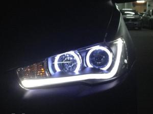 Alta calidad a estrenar Mitsubishi Lancer Ex 2010-2013 'llevó la lámpara principal llevada de la linterna con la lente doble para la venta
