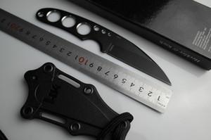 Heckler Koch Tactical Neck Knife Coltelli di Sopravvivenza All'aperto Tactical Coltelli EDC HK Farfalla Collana Piccolo Coltello Diritto Spedizione Gratuita