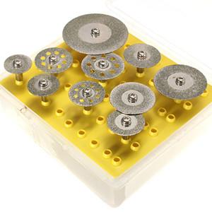 Diskler Tekerlek Kesme Seti için Dremel Döner Kesme Aracı 10pcs Elmas