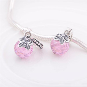 Pandora Bead Morning Butterfly Charms Sterling Silver Fine Charm Perlas sueltas Diy Jewelry For European Thread Jewelry Bracelets Necklace Pe