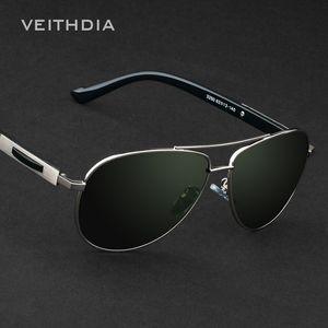 VEITHDIA Marque Designer Lunettes de soleil pour hommes Polarized Lens Driver Miroir Lunettes Mâle Lunettes De Soleil Outdoor lunettes uv400 Goggle 3250