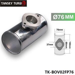 """76MM 3"""" BOV ADATTATORE flangia del tubo dritto per soffiare via TYPE-RS VALVOLA hanno in azione TK-BOV02FP76"""