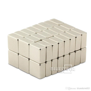 Ímãs Cuboid do bloco forte de 50pcs N50 10mm x 10mm x 5mm neodímio da terra rara
