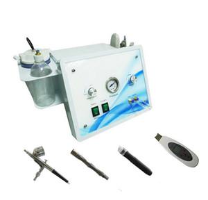 4 en 1 Dermabrasio Hydro Dermabrasion Diamant Microdermabrasion d'oxygène Jet d'oxygène Peau Ultrasonic Skin Scrubber Hydra Dermabrasion Machine