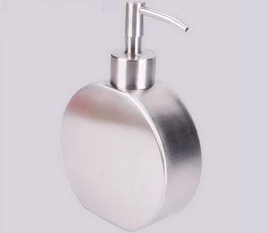 304 нержавеющей стали дозатор мыла творческий гель для душа бутылка лосьон прессованные шампунь в бутылках dispensador де jabon