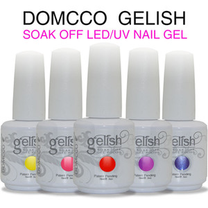 Alta qualità 12pcs Harmony Gelish gel Nail Polish impregna fuori LED UV Polish Lacquer