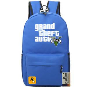 Zaino colorato Gta day pack Grand theft auto school bag Game packsack Zaino di qualità Sport zainetto Outdoor daypack