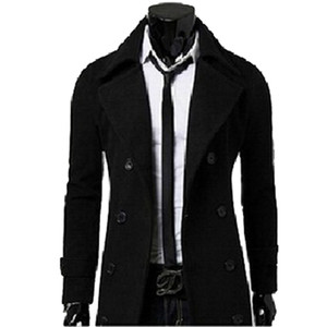 Fall-Fashion New  Mens Winter Trench Coats Overcoats Duffle Coat Men Winter Jacket Peacoat manteau homme High Quality