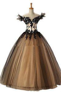 Nuevos vestidos de bola atractivos vestidos de quinceañera 2015 Sweetheart organza con apliques Sweet 16 vestidos 15 años de fiesta vestido de fiesta QS65