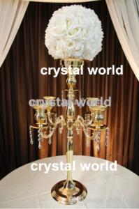 Candelabro per centrotavola di matrimonio, 123 candelabri alti per matrimoni12345