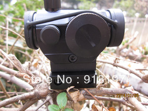 Micro M1 Red Green Dot Scope with High Level 11mm 20mm Rail Mount