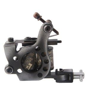 High-end low-carbon Steel Handmade Tattoo Machine Gun Permanent Makeup 10 Wrap Coils Tattoo Gun For Body&Art 1110468