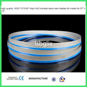 High quality 1635*13*0.65*14tpi M42 bimetal band saw blades for metal 64.37