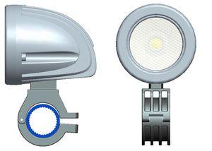 무료 배송 2 인치 12V / 24V 800LM 10W 방수 LED 작업 조명 운전 안개 램프 자동차 / 오토바이 / 보트