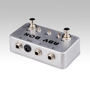 NEW ABY Selector Combiner Switch AB Box New Pedal Footswitch!BRAND NEW CONDITION!