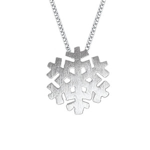 925 sterling silver items jewelry pendant statement necklaces flat snowflake wedding ethnic vintage new arrival charms