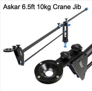 Askar 190cm 1.9M 10kg Handycam SLR brazo de cámara Video DVCam Cámara DSLR Jib Crane con bolsa