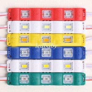 SMD5630 Enjeksiyon Led Modülleri 3 LEDs 1.5 W Su Geçirmez Açık Süper Parlak IP65 Reklam Işaretleri Arka Aydınlatma Kanal Mektuplar için 12 V