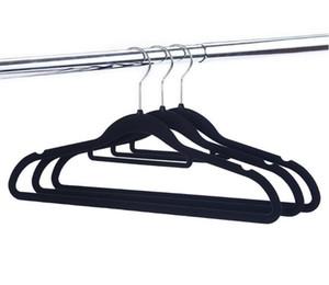 Ahorro de Espacio Percha para Abrigos Duradera ZOBER Perchas de pl/ástico con Revestimiento de Goma Ultra Delgadas Antideslizantes para Pantalones