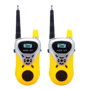 20 pairs kids يده يتحدث اللعب walkie talkies الأطفال هدايا ألعاب تعليمية مضحك ألعاب إلكترونية