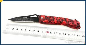 Ghillie G131-Un fresco cuchillo de la fruta, la supervivencia que acampa plegable del cuchillo de bolsillo hoja, mango ABS Santo cuchillo hermoso regalo