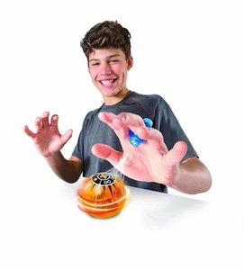 4 цвета новые кончики пальцев Магнето сферы декомпрессии магия магнитный шар палец игрушки дети подарки на День Рождения CCA7887 120 шт. йо-йо кончик пальца Гир