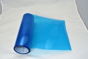 0.3*10m roll PVC headlight tint Blue for car head decoration express free shipping