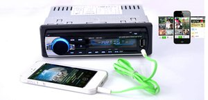 Yeni 12 V Araba tuner Stereo bluetooth FM Radyo MP3 Audio Player Telefon USB / SD MMC Portu Araba radyo bluetooth tuner In-Dash 1 DIN